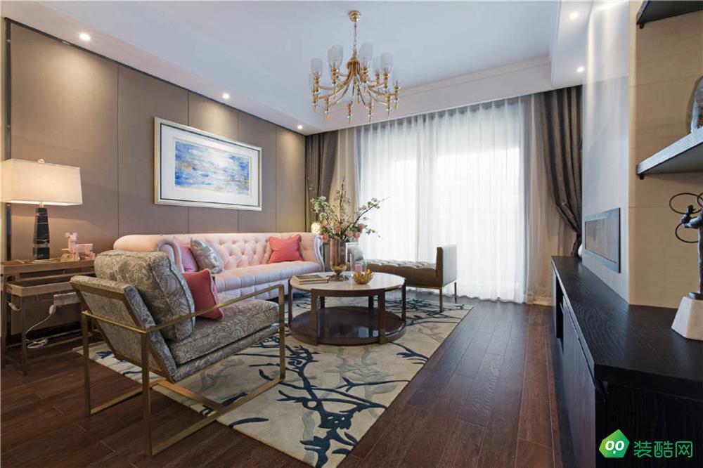 三室两厅98平米混搭风格装修效果图
