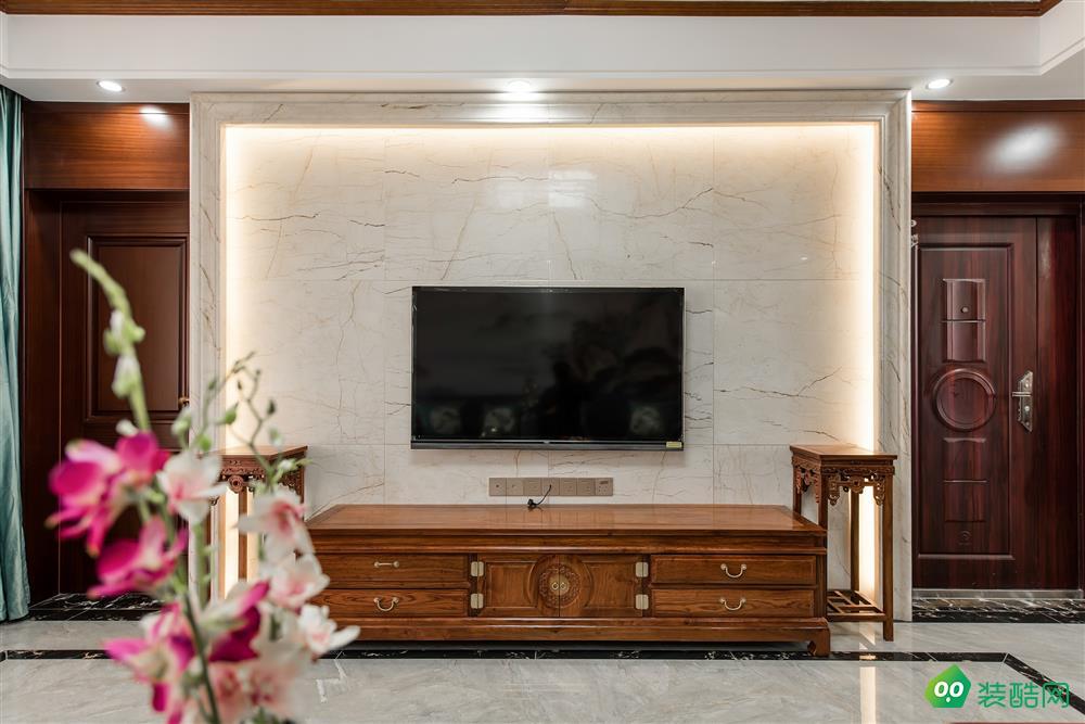 興義雅美居裝飾-140平中式裝修案例圖