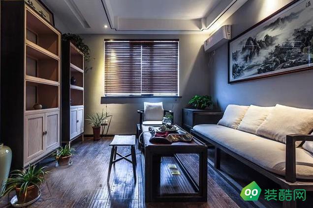 咸陽怡馨裝飾125平米 中式風格三室兩廳裝修效果圖