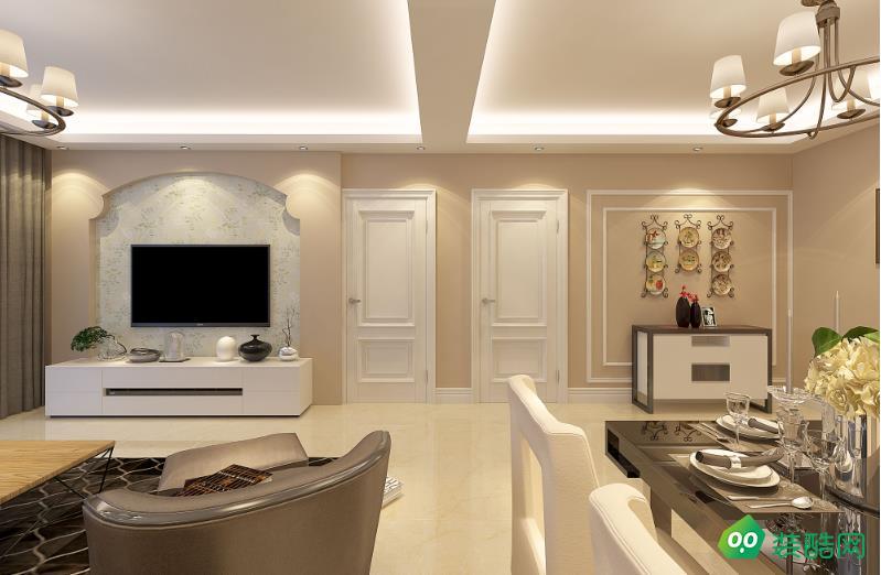 都勻110平三室簡約風格裝修效果圖-名匠裝飾