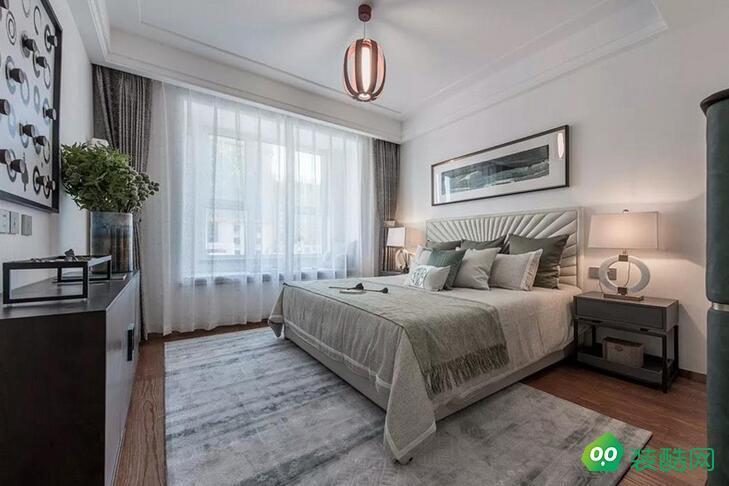 六盤水-161平米四居室大平層新中式風格裝修效果圖