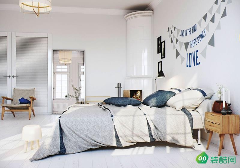 咸陽尚巢裝飾-130平米北歐風格三室兩廳兩衛裝修效果圖