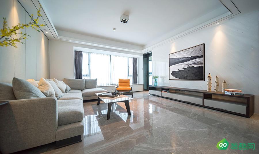 106平米三居室现代简约风格