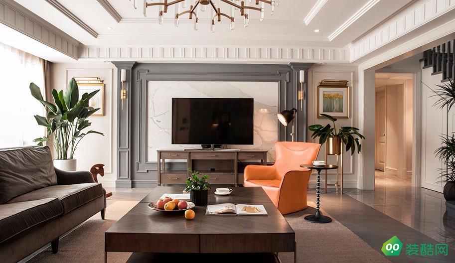 120平米歐式三居室裝修效果圖