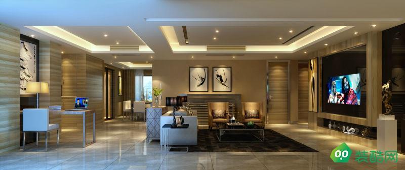 成都177平米现代简约风格五居室装修案例图片-聚相因装饰