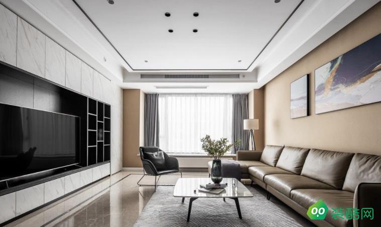 北京海天环艺装饰-180平现代四房装修案例效果图