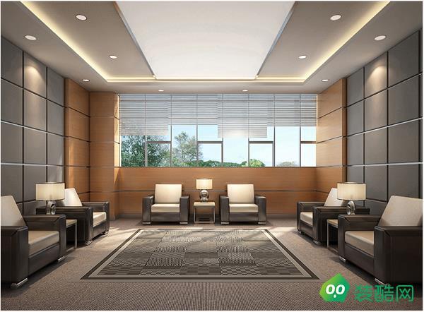 1500平办公室现代风格装修
