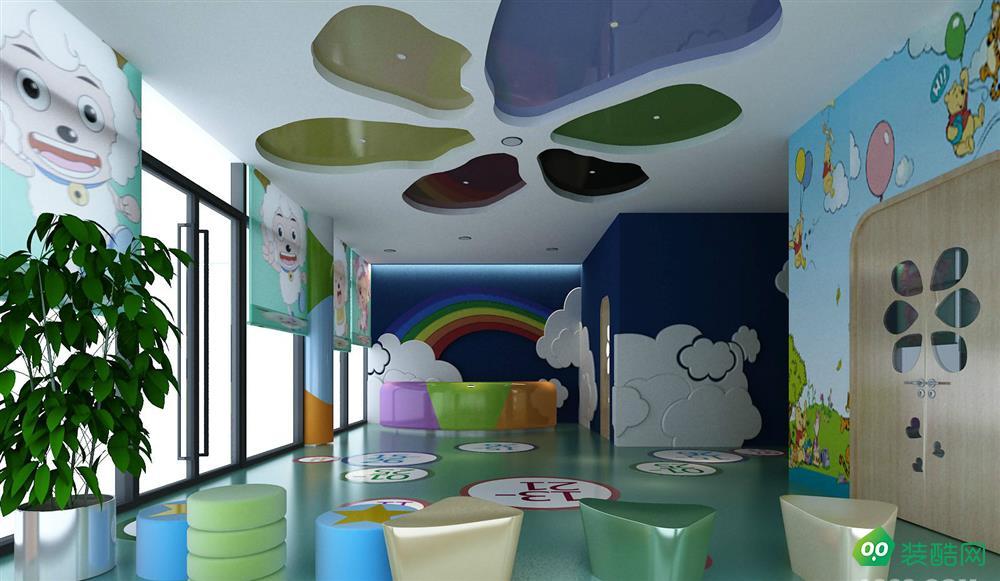 450㎡幼儿园现代装修风格