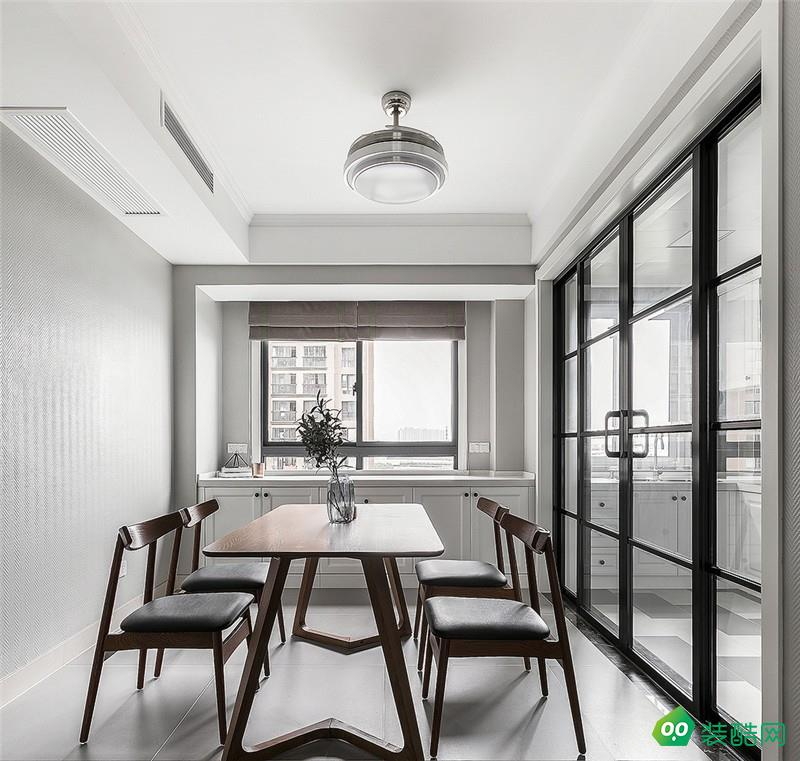 北京深度空間裝飾-101平現代簡約裝修案例效果圖