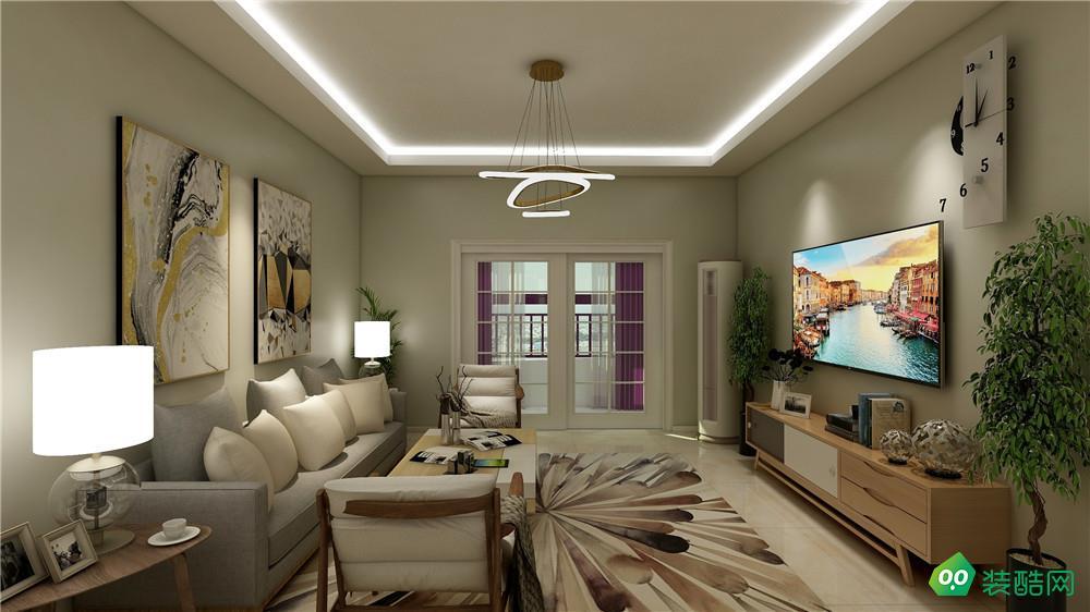重慶118平米現代風格三室兩廳裝修案例圖片-湛然裝飾
