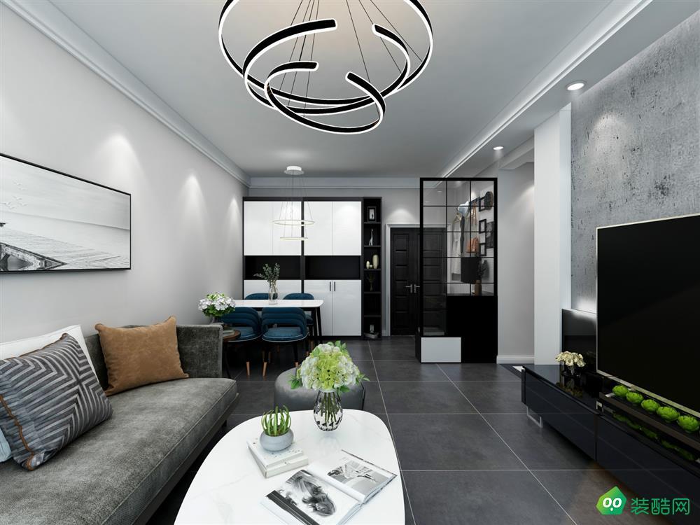 重慶101平米現代風格兩居室資訊案例圖片-湛然裝飾