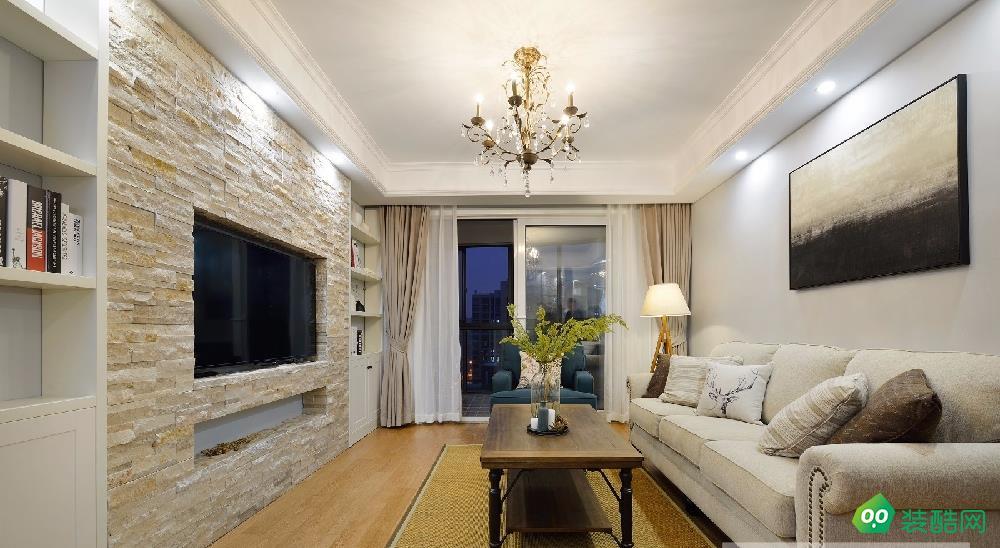 重慶96平米美式田園兩居室資訊案例圖片-湛然裝飾