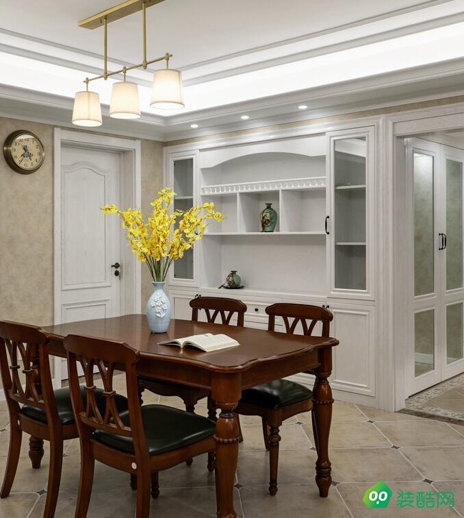 泉州-三室两厅155平米简约美式装修效果图