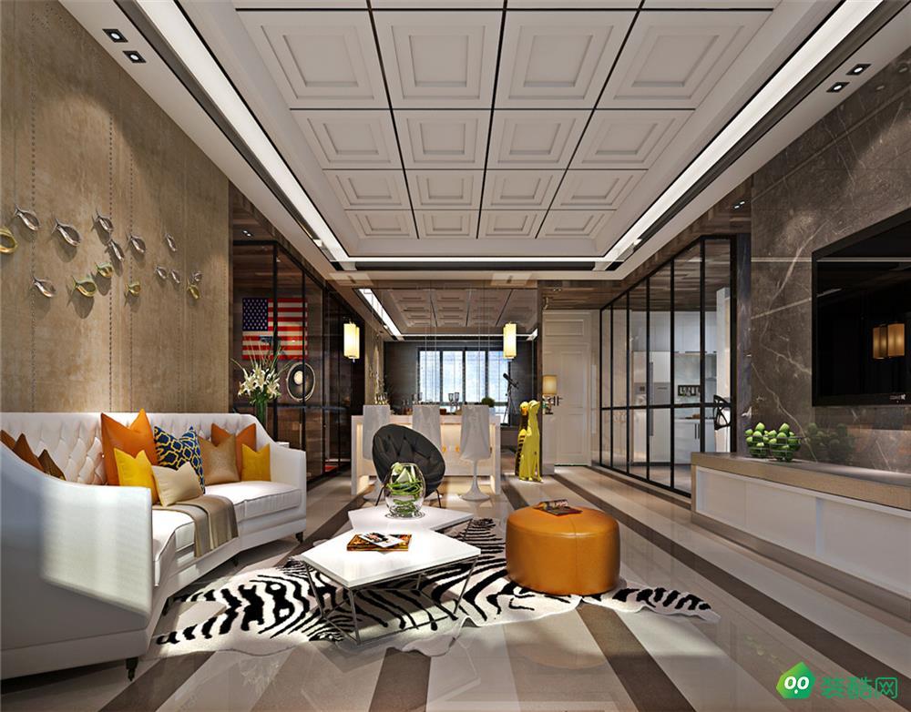 柏悦公馆 现代简约 182㎡四室两厅