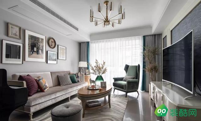 北京我爱我家装饰-90平旧房翻新简约装修案例