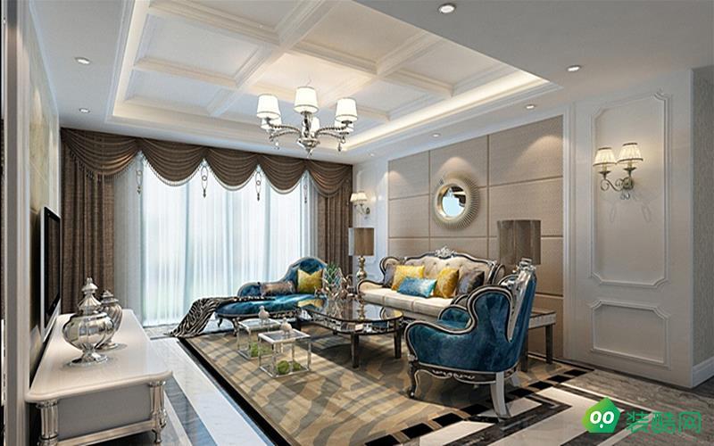 简欧风格140平米四室两厅装修案例