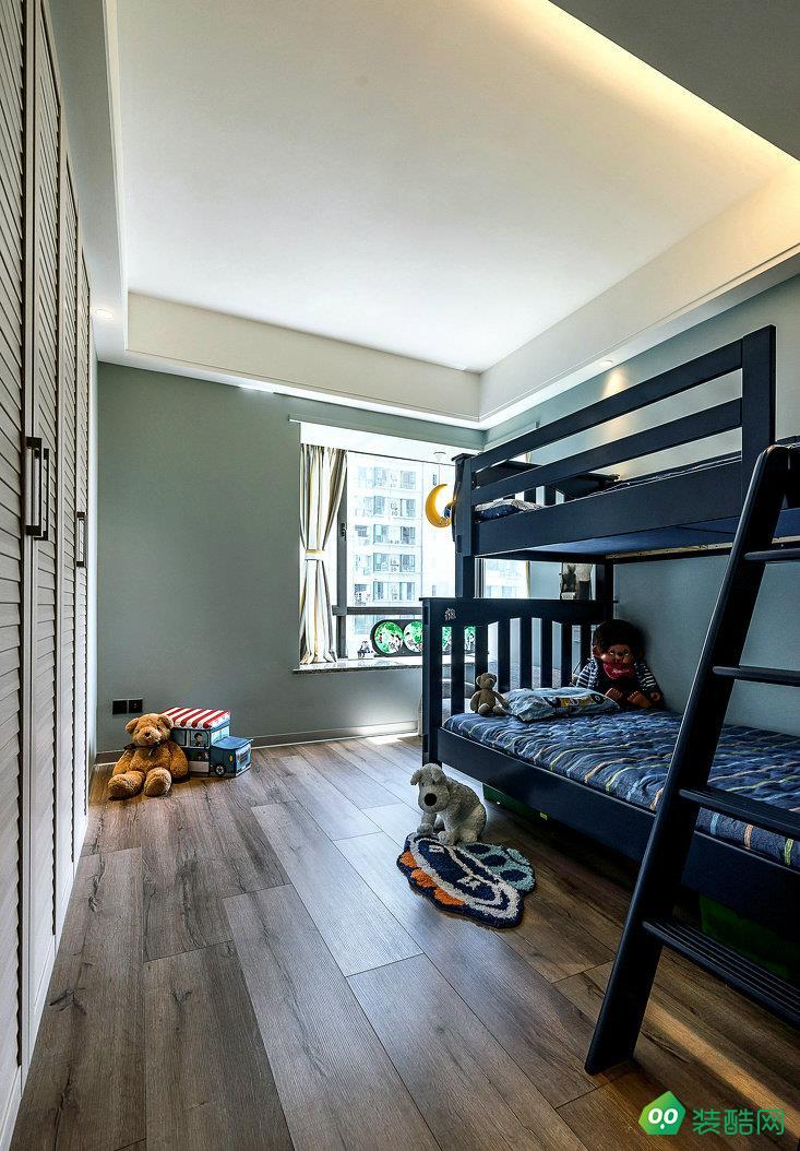 益阳点石装饰-140平米现代风格四室两厅装修效果图