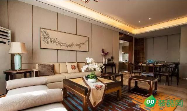 朝阳-公寓-149平米-中式风装修效果图
