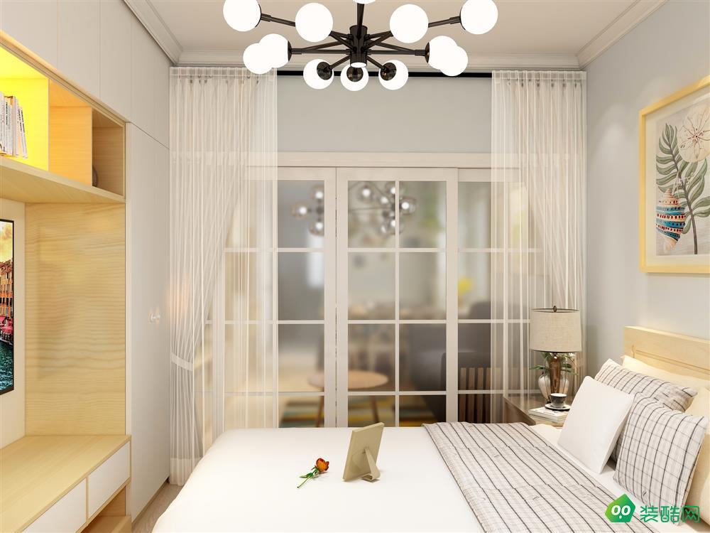 朝阳-一居室-41平米-小清新风装修效果图