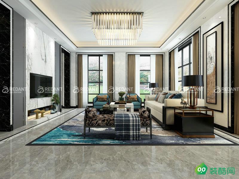 九溪墅700平新中式風格別墅設計案例