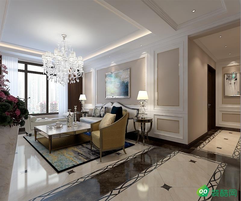 大连148平米时尚新古典风格三居室装修案例图片