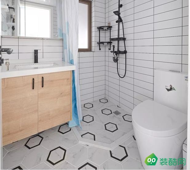 乐山100平三室北欧风格装修效果图-圆梦装饰