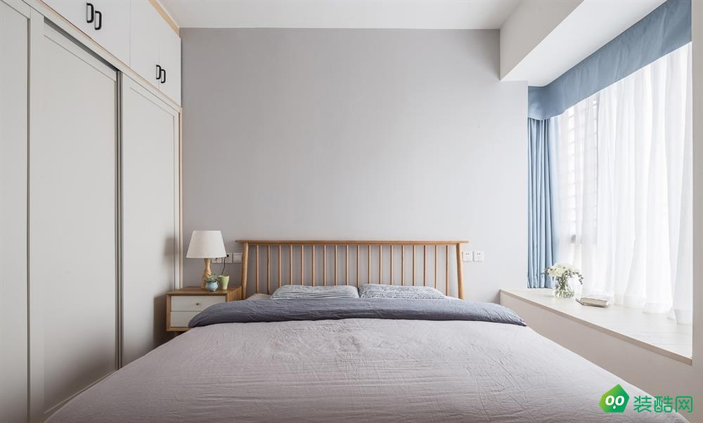 益阳78平米北欧两室两厅装修效果图