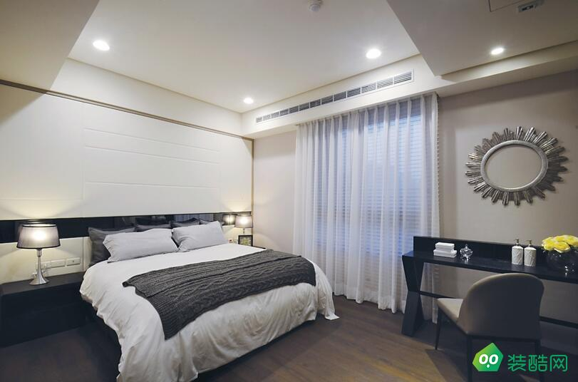 兴义-公寓-130㎡简约风格装修案例效果图