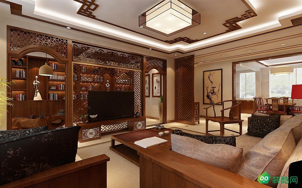 达州190平米新古典风格五居室装修案例图片-岚庭装饰