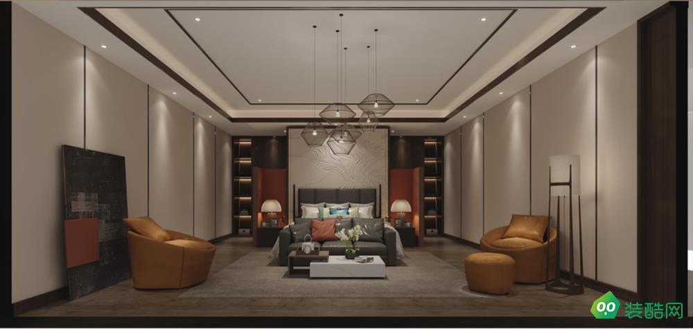 西安170平米現代四室兩廳兩衛裝修效果圖