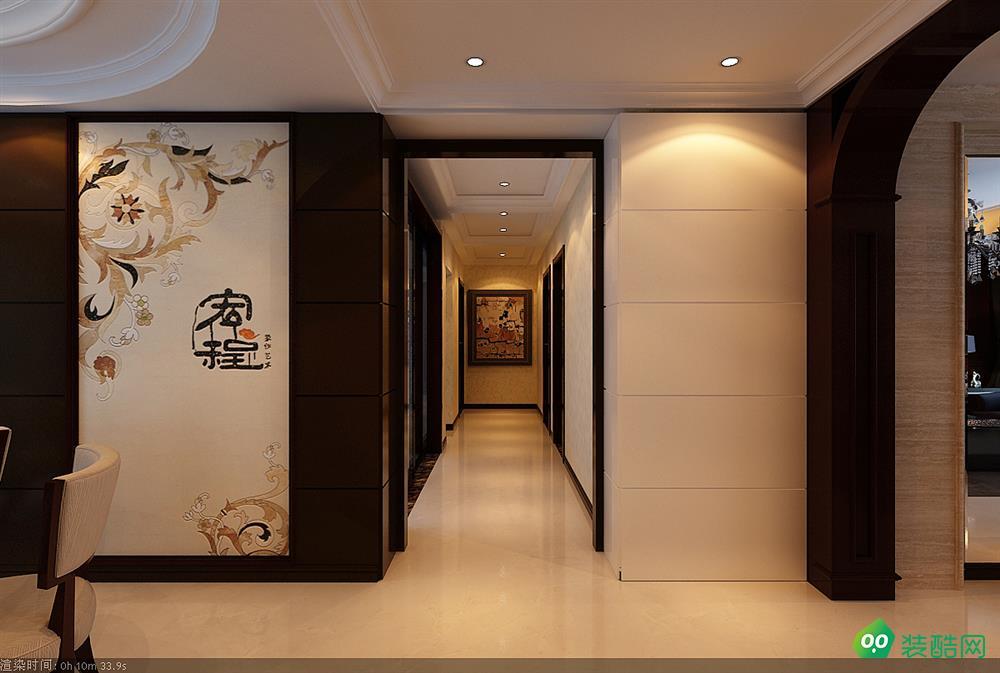 西安130平米簡約美式三室兩廳一衛裝修效果圖