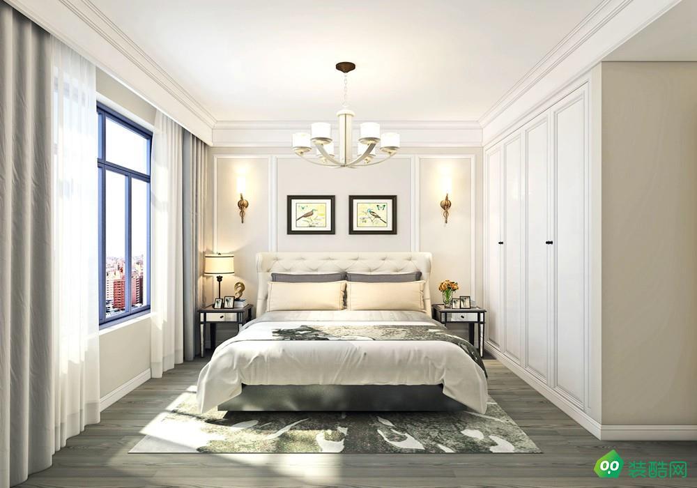 85平米三居室-北歐風格裝修效果圖