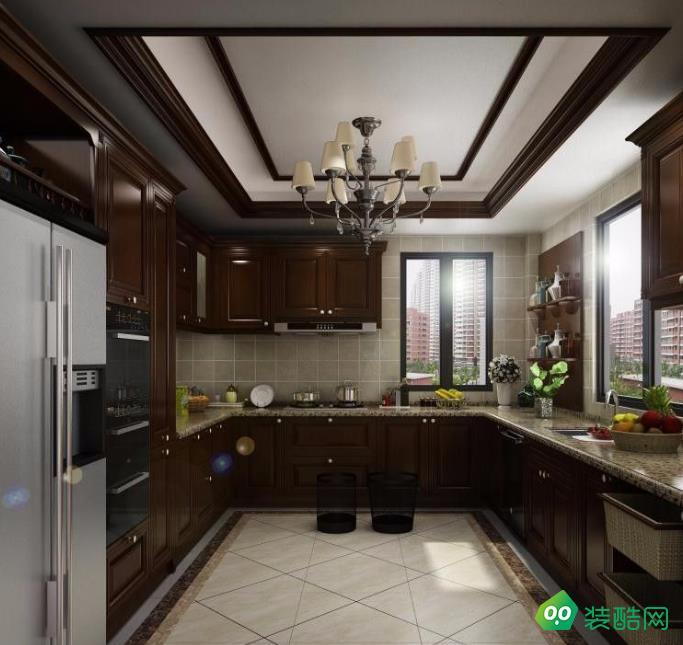 兴义220平米别墅中式风格装修效果图