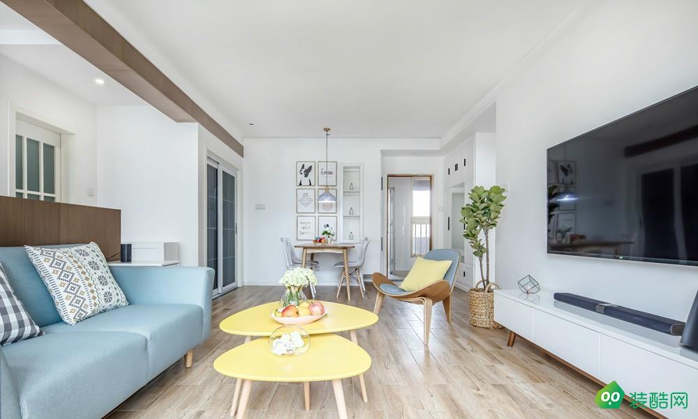 貴陽北歐風格三居室117平裝修案例