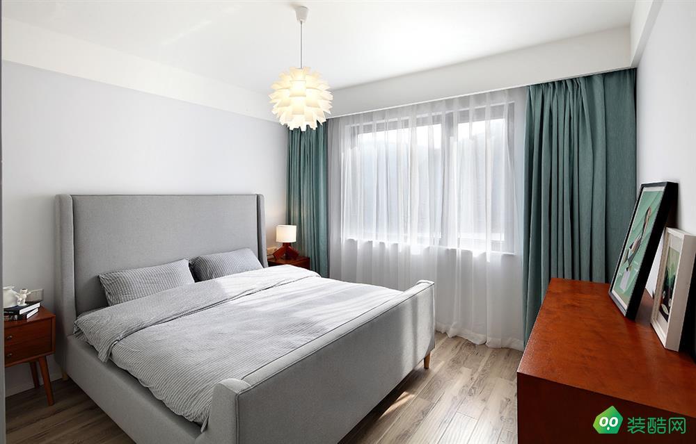 包頭140平米四室北歐風格裝修效果圖-美立方裝飾