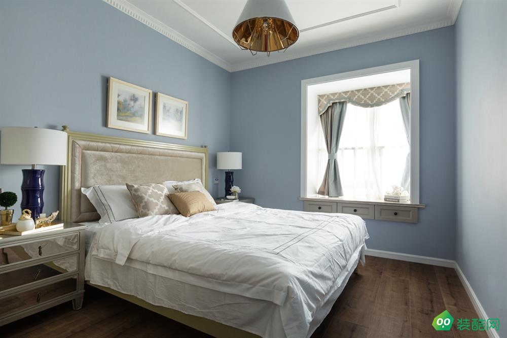 無錫120平米歐式風格三室兩廳兩衛裝修效果圖