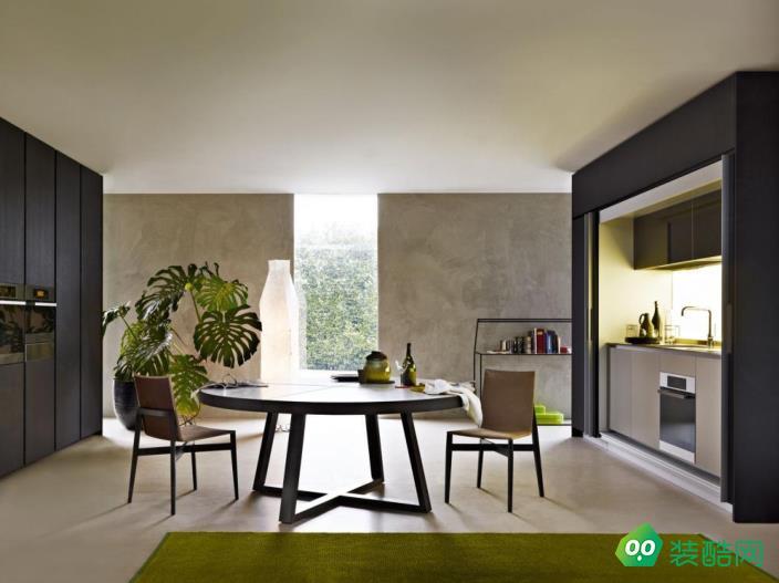 西安122平米現代四室兩廳兩衛裝修效果圖