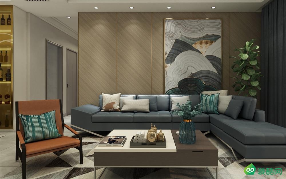 六盤水-四居室-103平米現代裝修風格效果圖