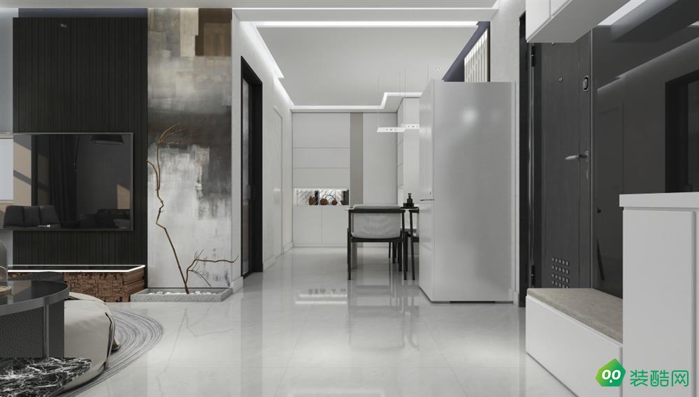 六盘水-两居室—64平米简约装修风格效果图
