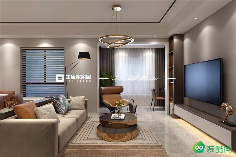 江南府現代三居室130平