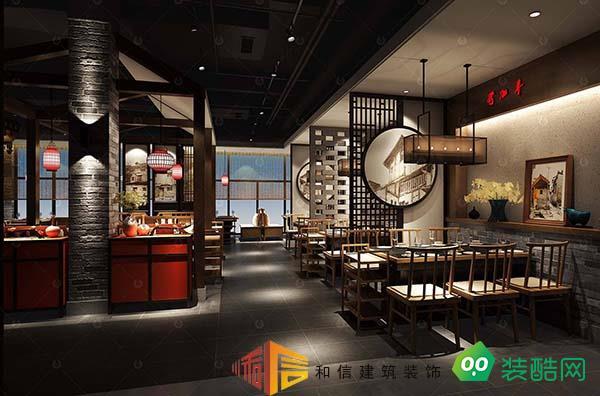 成都餐廳裝修設計公司-熱辣辣概念火鍋店