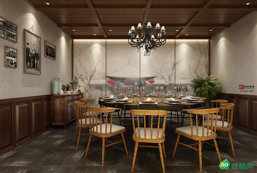 濟南特色餐廳裝修設計公司