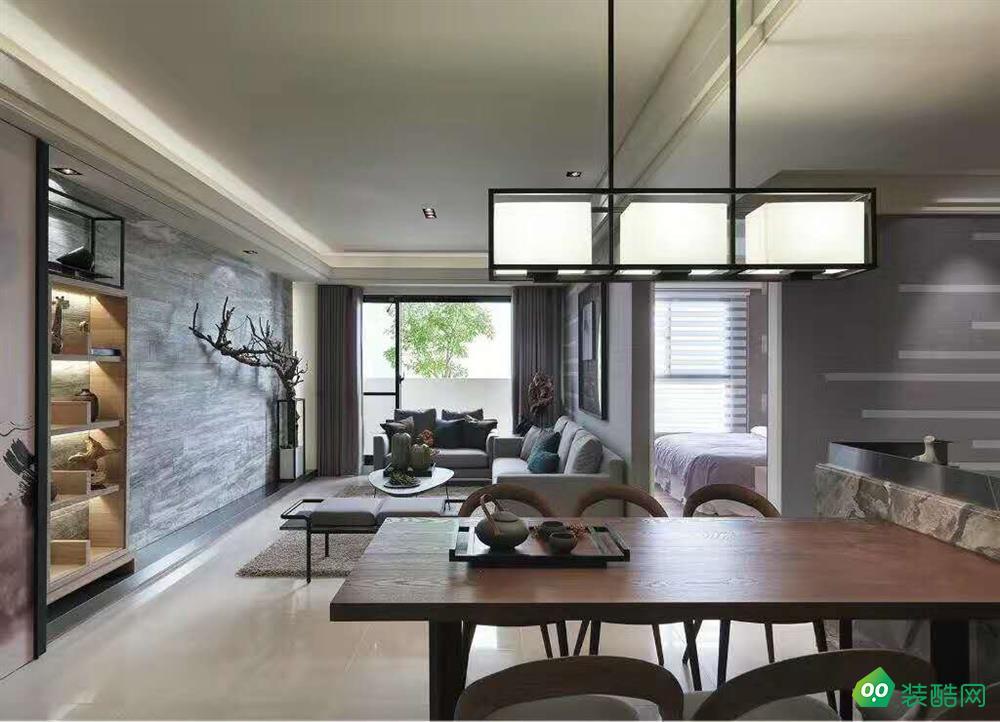 西安143平米美式四室两厅两卫装修效果图