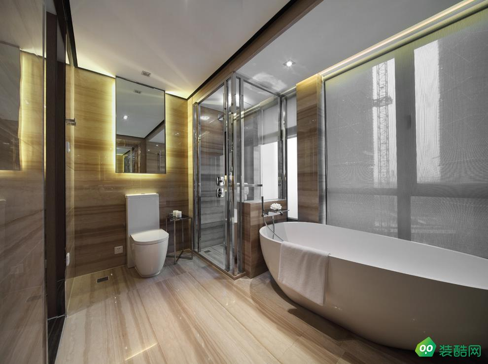 乐山美华堂装饰-120平米3室新古典风格装修效果图