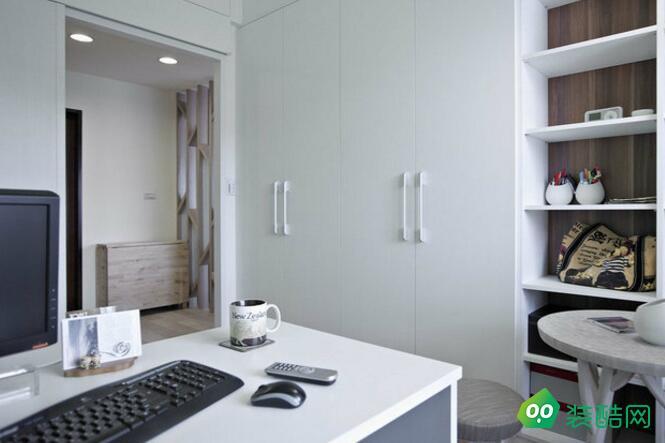 無錫86平米歐式風格兩室裝修效果圖