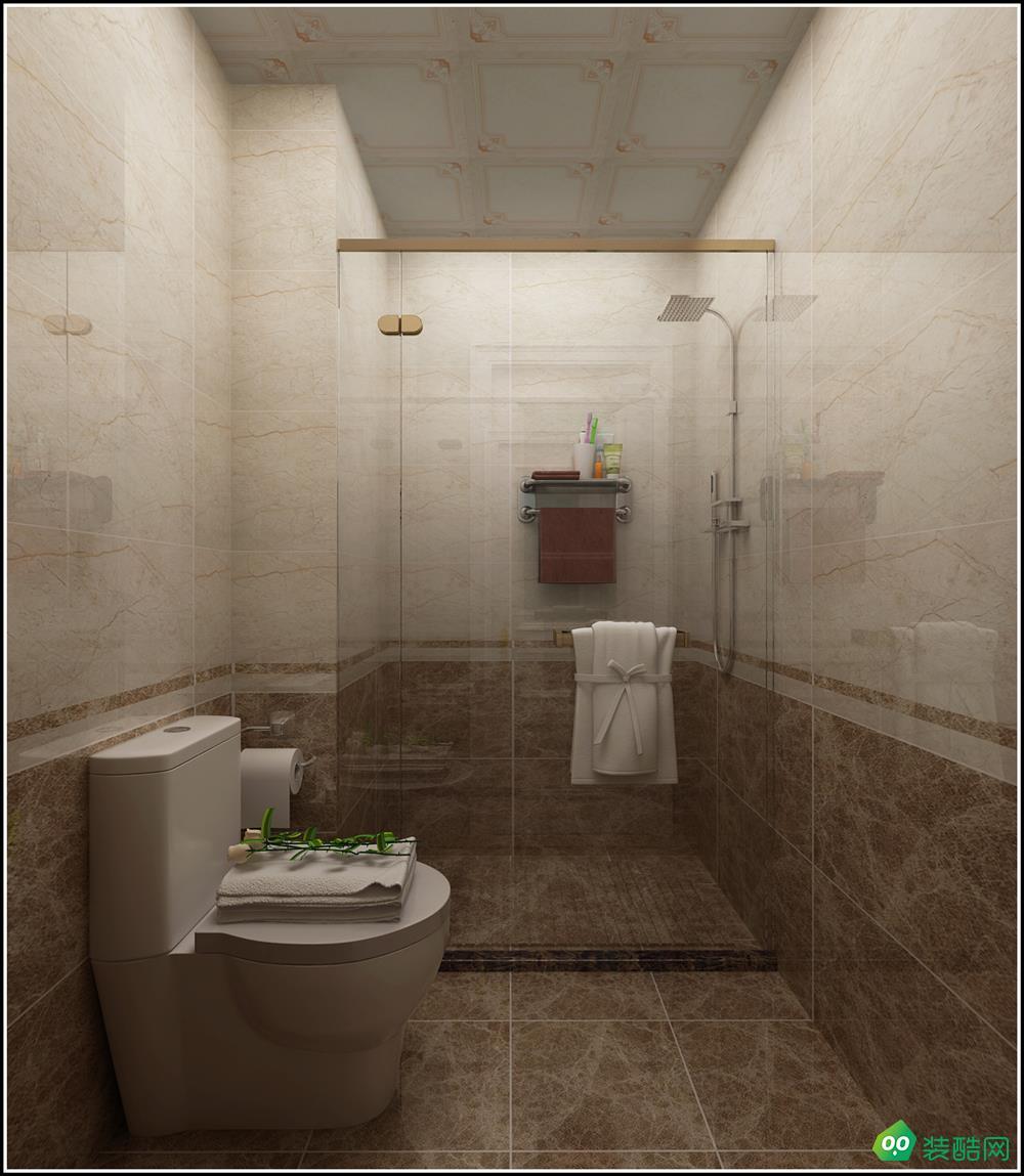 常州100平米兩室歐式風格裝修效果圖-華友裝飾