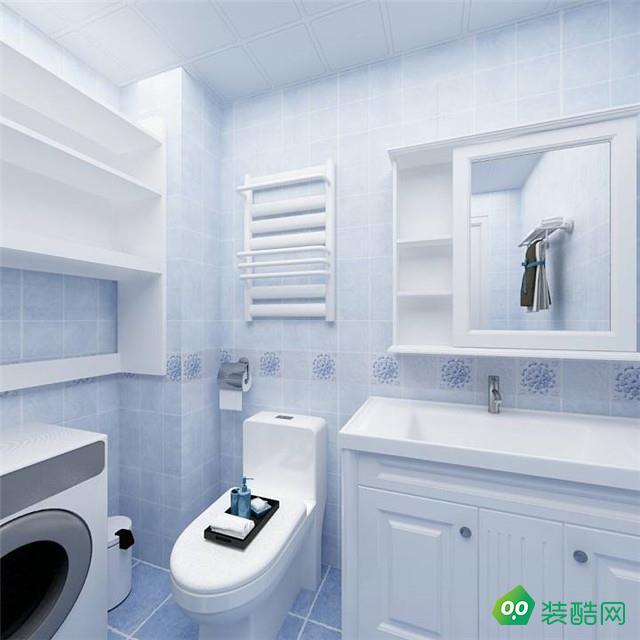 宜昌115平米地中海风格三室装修效果图