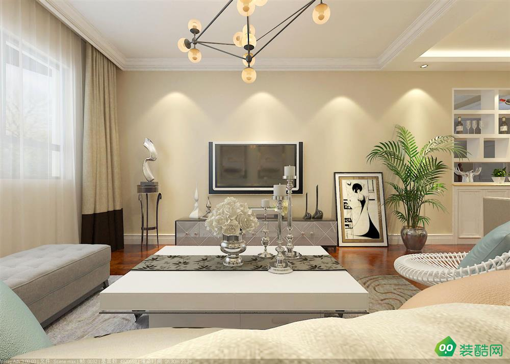 昌吉200平米现代风格别墅装修案例图片-昌吉装饰