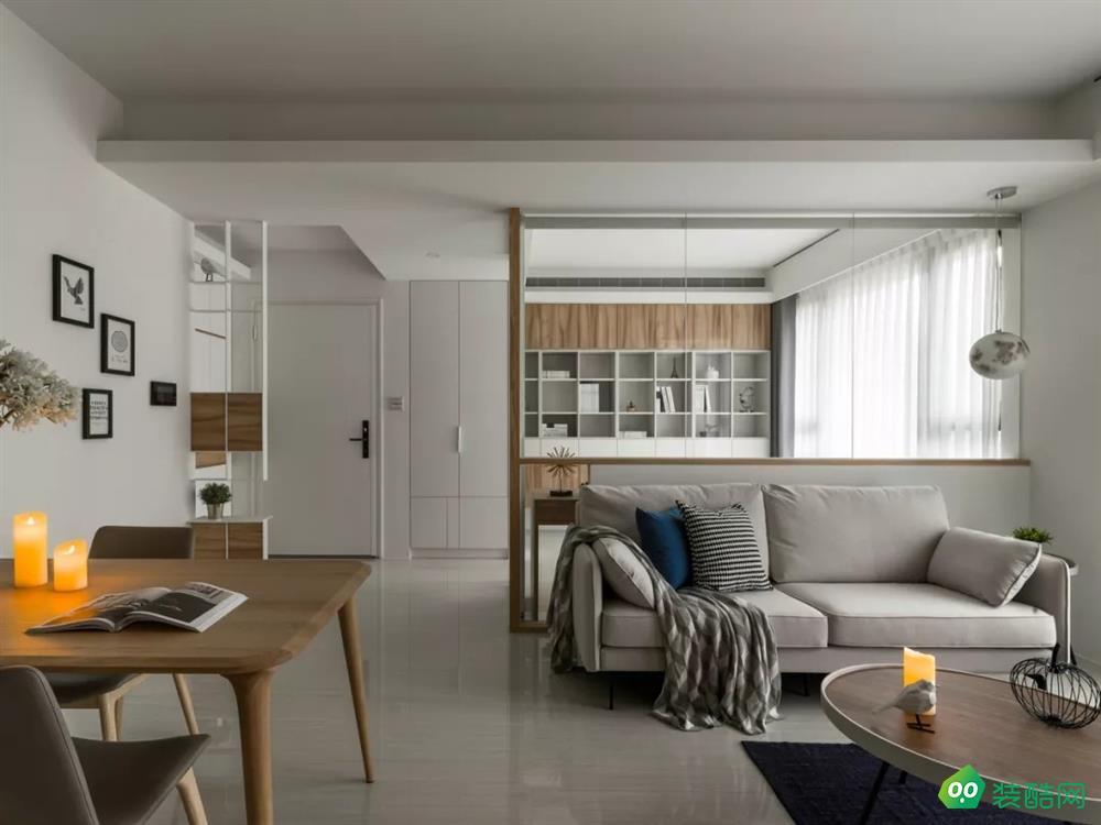 76平的現代風小戶型二居室