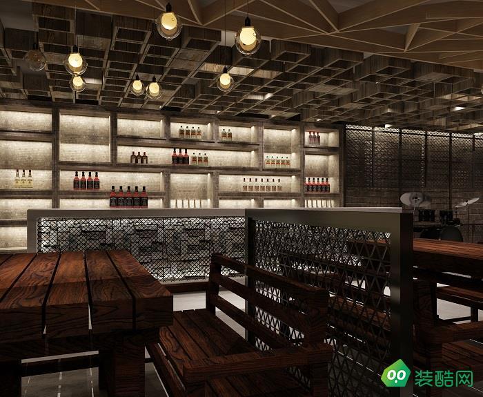 长春350平中式餐厅装修案例